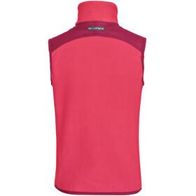 VAUDE Racoon Fleece Vest Kids bright pink